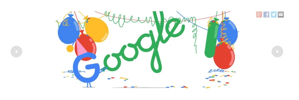 Google officially an adult; celebrates 18th birthday with personalized doodle GIF