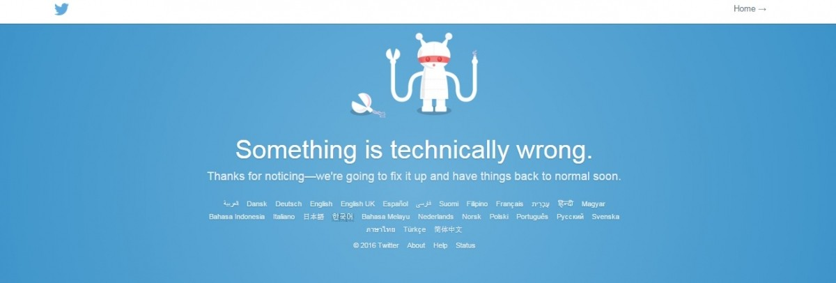 Twitter is down: Micro-blogging social network not working, again