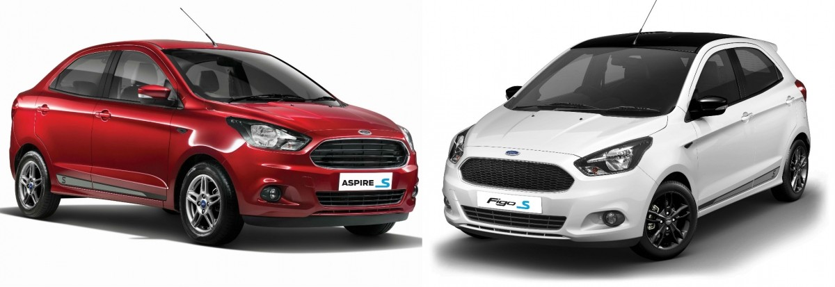 ford figo aspire sports edition launched in india prices
