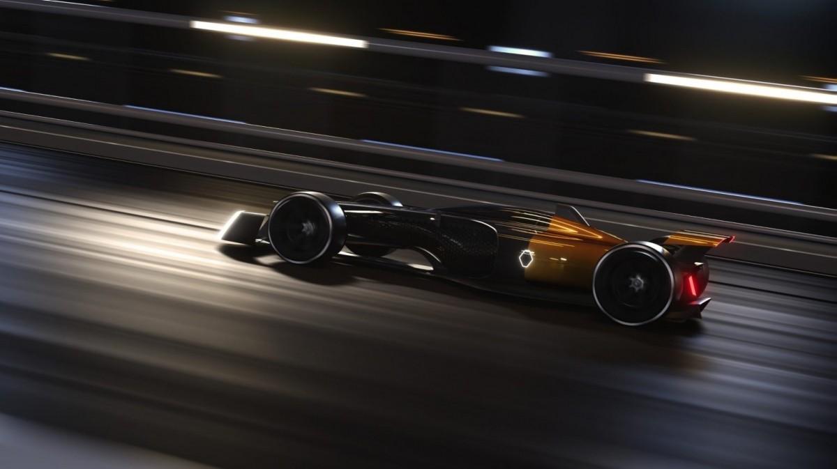 Renault 2027 F1 concept car