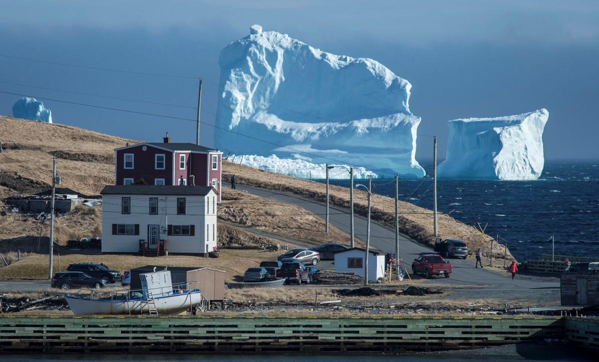 Canada ice berg