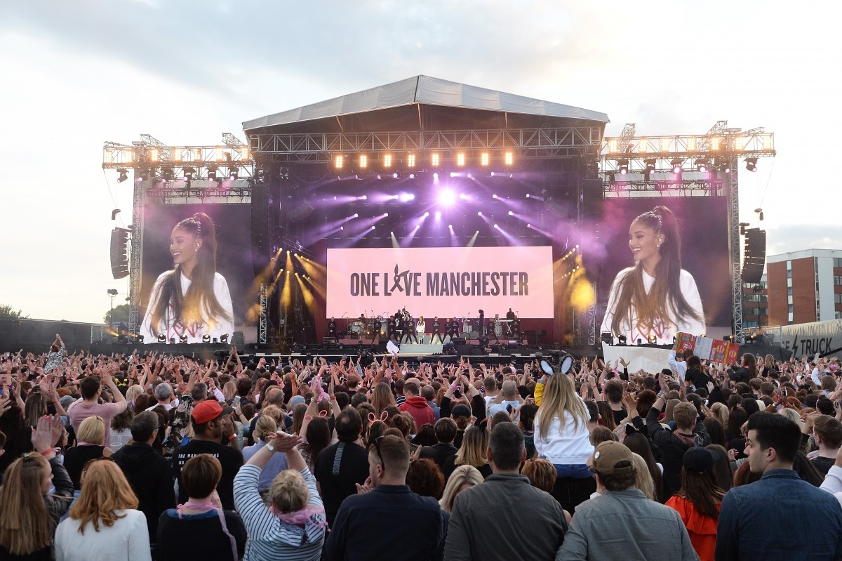 One Love Manchester Tears And Happiness Overshadow Fear