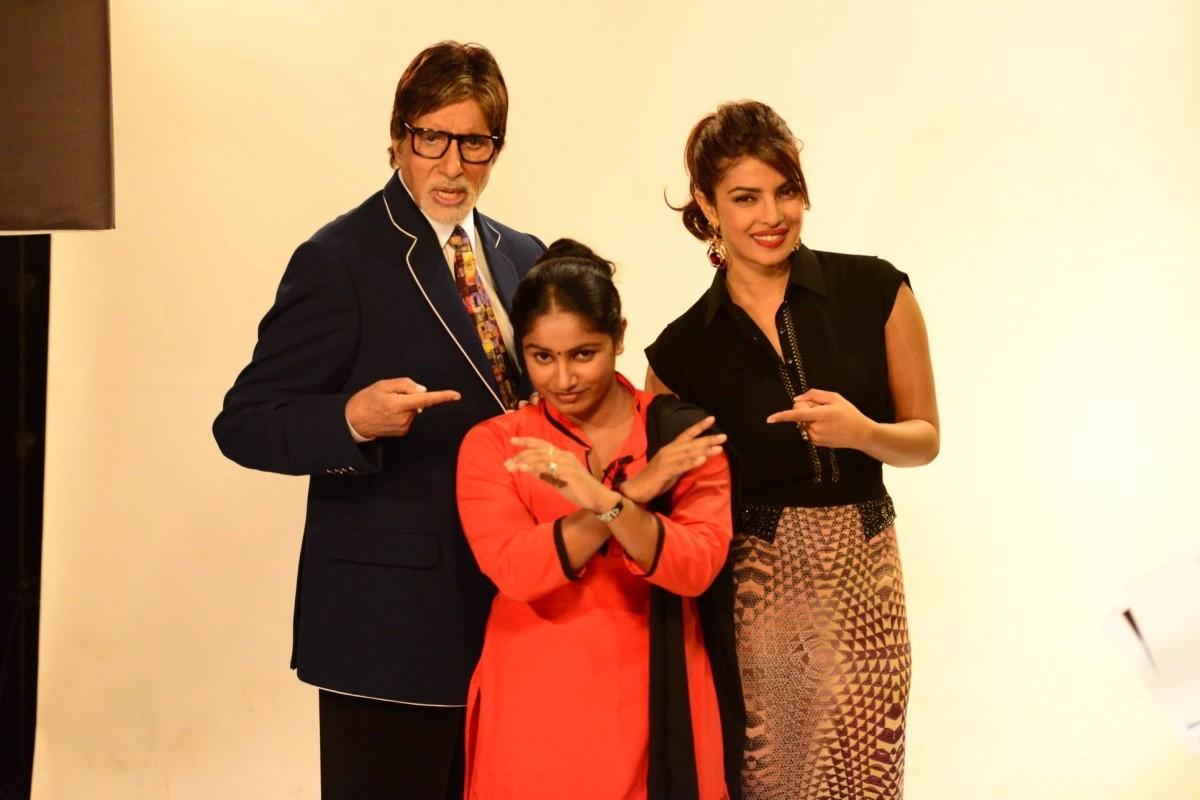 Priyanka Chopra on Amitabh Bachchan's Kaun Banega Crorepati 8