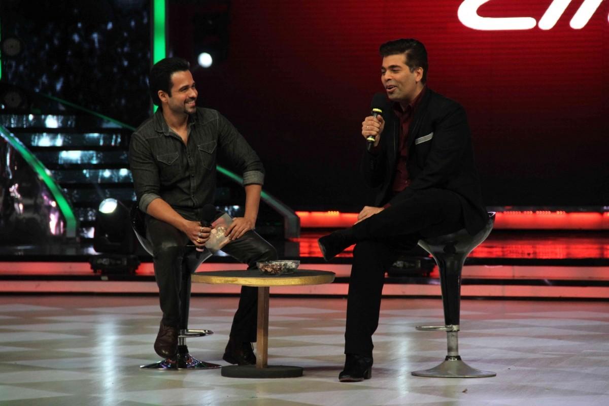 Emraan Hashmi promotes 'Raja Natwarlal' on the sets of 'Jhalak Dikhhla Jaa'