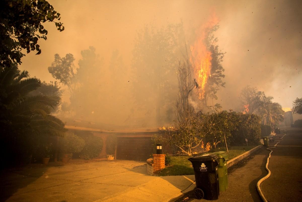 Skirball Fire