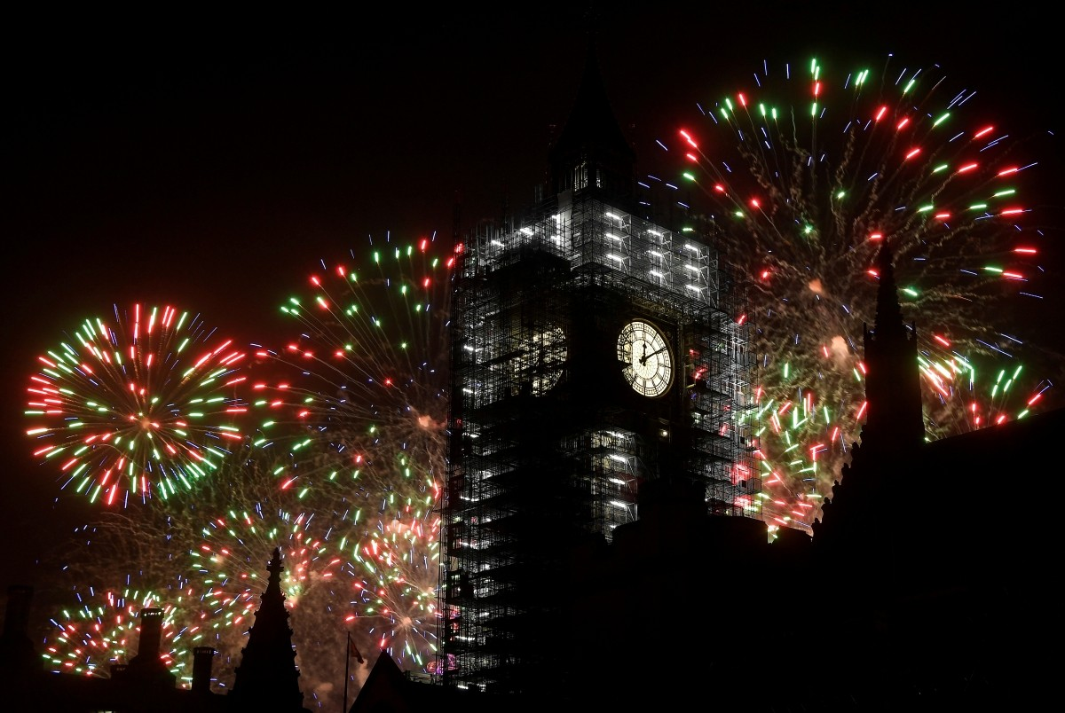 IN PHOTOS: Fireworks and celebrations around the world ...