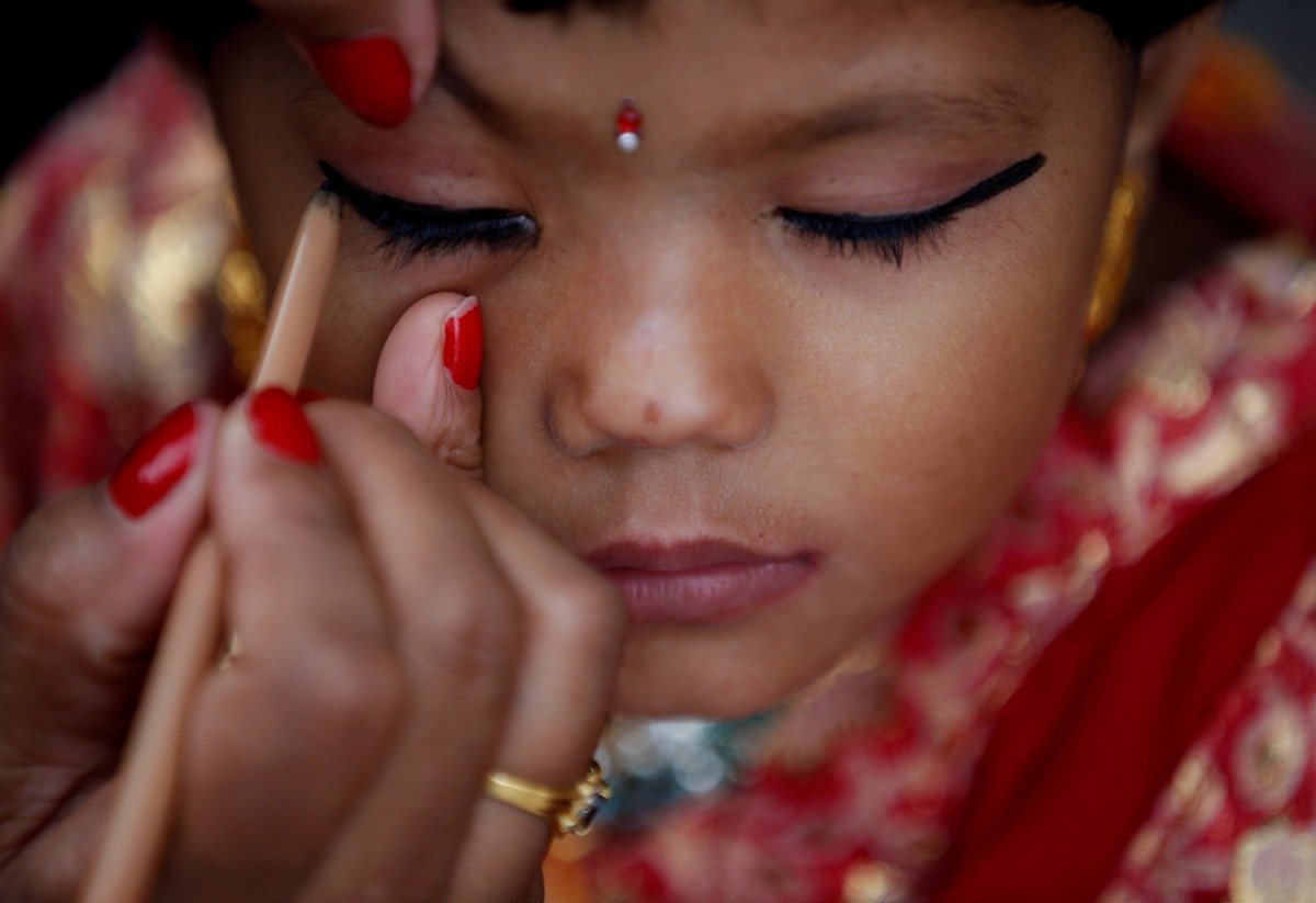 Kumari Puja festival