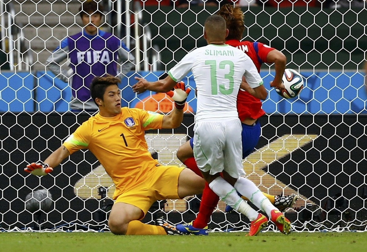 South Korea v Algeria