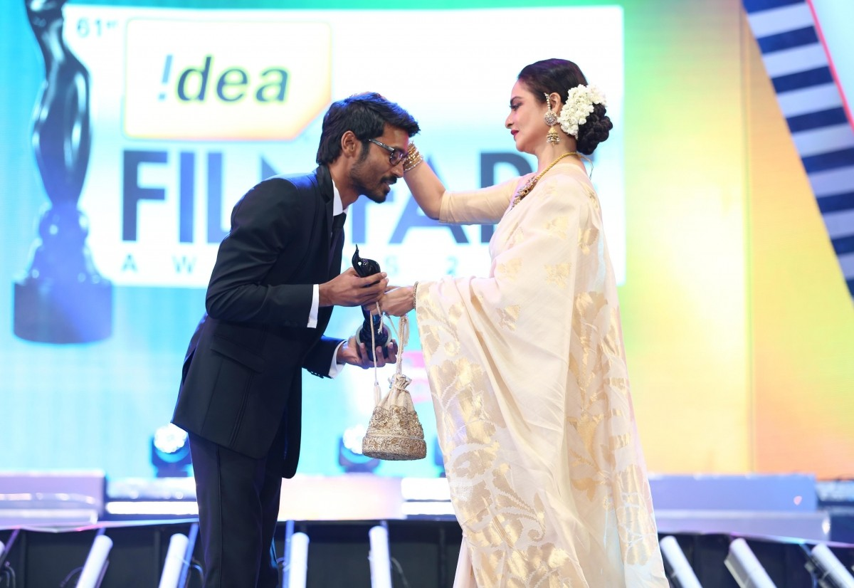 Dhanush won best actor critics award for