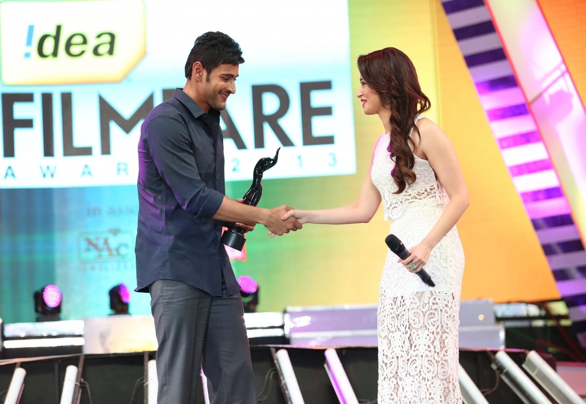 Mahesh Babu wins best actor award for