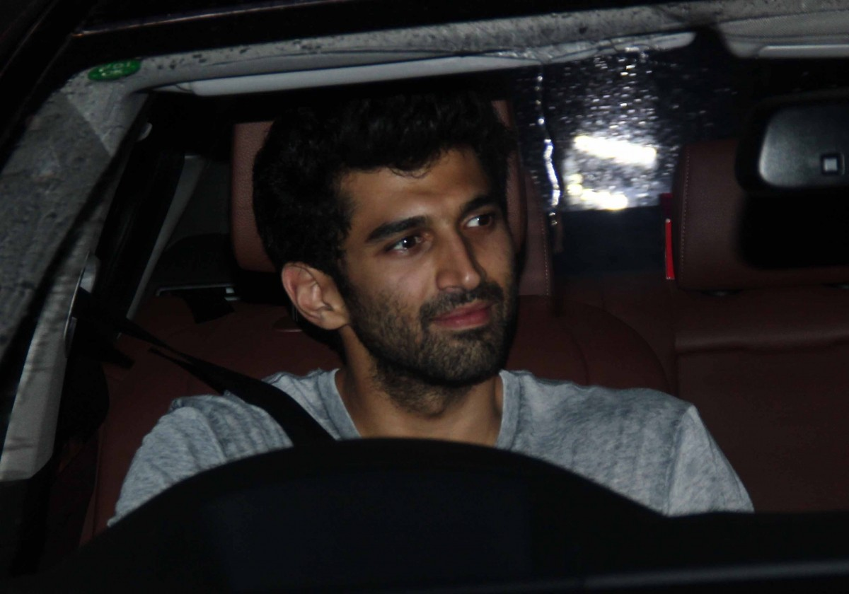 Aditya Roy Kapur at the special screening of