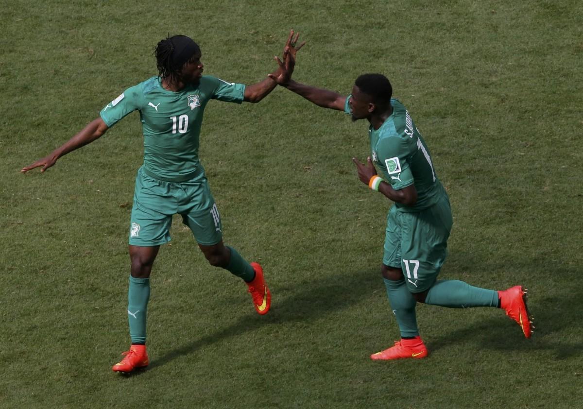 Colombia vs Ivory Coast
