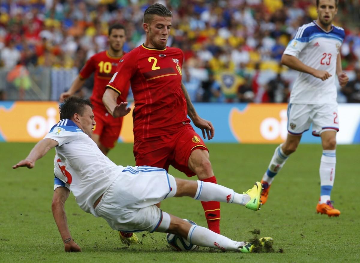 Belgium vs Russia