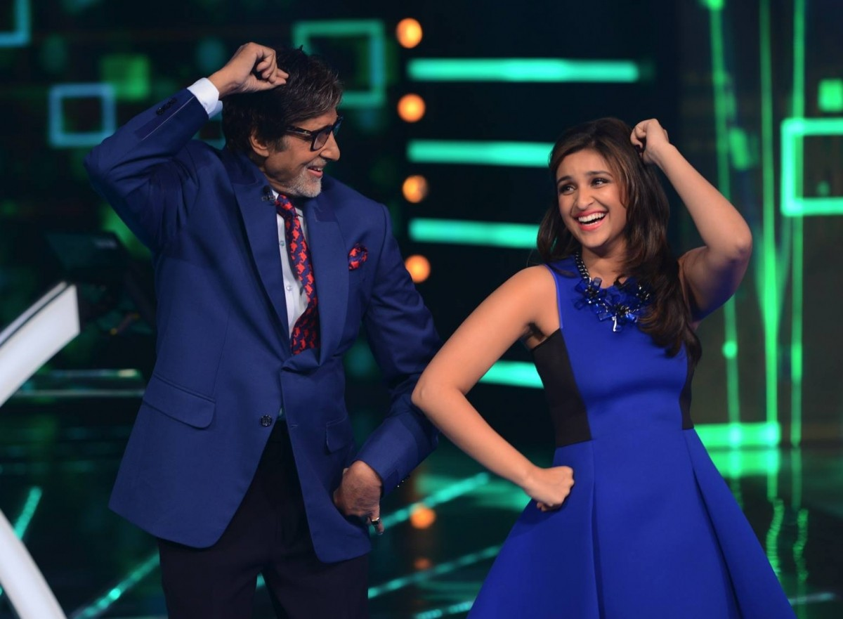 'Daawat-e-Ishq' stars promote their film on the sets of 'KBC'
