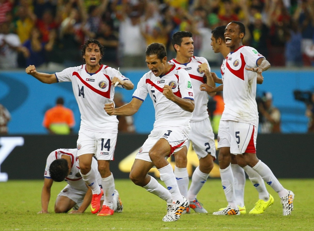 Costa Rica vs Greece