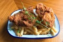 This restaurant in London is serving delicious meat-free fried chicken...so why are people so upset?