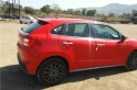 Maruti Suzuki Baleno RS 1.0 starts arriving at dealerships; red-colour unit spotted for 1st time