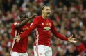 Zlatan Ibrahimovic steals the show as Manchester United defeat Southampton to win EFL Cup