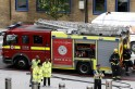 London: Gherkin evacuated, fire brigade to leave building shortly, says there was no fire