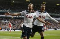 Premier League results: Two goals in three minutes, and Tottenham beat Arsenal to stay alive in title race