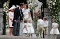 Pippa Middleton wedding: Meghan Markle attends reception with boyfriend Prince Harry [PHOTOS]