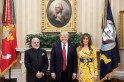 Melania Trump stuns in $2,160 gown to meet PM Modi at White House
