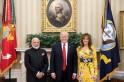 Melania Trump stuns in $2,160 gown to meet PM Modi at White House