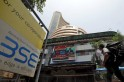 Sensex drops 447 points on rupee slipping to 4-month low