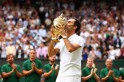 Roger Federer walks this earth like a god! Twitter erupts in joy as Swiss great wins record eighth Wimbledon title