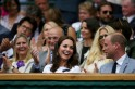 Dressed in white, Kate Middleton and Prince William sneak in date time at Wimbledon [PHOTOS]