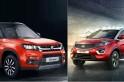 Tata Nexon vs Maruti Suzuki Vitara Brezza; which compact SUV scores in specs?