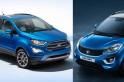 Bestselling compact SUVs; Ford EcoSport beats Tata Nexon, Maruti Suzuki Vitara Brezza stays on top