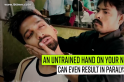 A harmless neck massage by barber may damage nerve, cause paralysis [VIDEO]