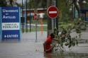 Hurricane Maria hits Guadeloupe
