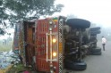 Maharashtra accident: 11 killed as truck they were travelling in turns turtle in Sangli [PHOTO]