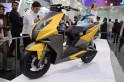 Catch first shots of TVS Graphite in action chased by Aprilia SR 150; production-spec may debut at Auto Expo