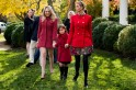 Ivanka Trump's $4,690 outfit outdoes Melania's $1,625 coat; Tiffany's short coat gives you the chills! [PHOTOS]