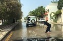 Jeddah flood: This amazing Saudi woman surfing in floodwater is the best thing you will see today [VIDEO]