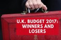U.K. Budget 2017: Winners and losers