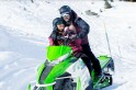 Tiger Zinda Hai song shoot: Salman Khan woos Katrina Kaif in a snow-mobile! [PHOTO]