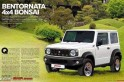 2018 Suzuki Jimny fully revealed in leaked images; specifications out