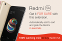 Redmi 5A Flipkart sale: Auto-buy Redmi 5A with this 100% trick