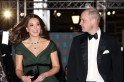 Slammed or bullied? Kate Middleton's green BAFTA outfit draws huge backlash but royal fans jump to her rescue