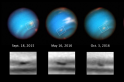 Hubble captures Neptune's mysterious dark storm as it's slowly shrinking out of existence