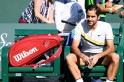 Federer brings up retirement after Indian Wells final defeat to del Potro