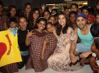 Bollywood actor Varun Dhawan and Alia Bhatt celebrate Valentine's Day with orphan child at Bandra in Mumbai.