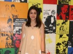 Actress Anushka Sharma promotes Jab Harry Met Sejal at Yashraj studio.