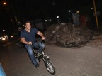 Tiger Zinda Hai star Salman Khan snapped enjoying a cycle ride late at night on Mumbai Streets.