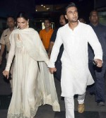 Deepika Padukone, Ranveer Singh, Shahid Kapoor and Mira Rajput at Padmaavat special screening