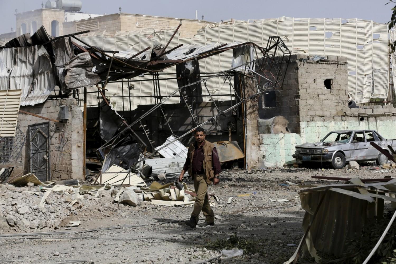 Yemen: See the devastating aftermath Saudi airstrike in Sanaa